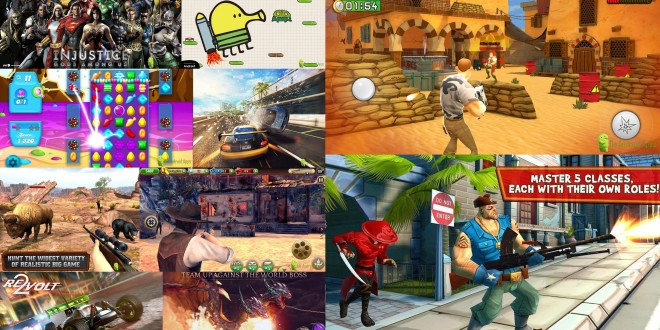 top five android games 2015