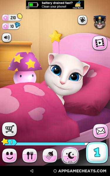 My Talking Angela Cheats & Hack for Diamonds & Coins 2018