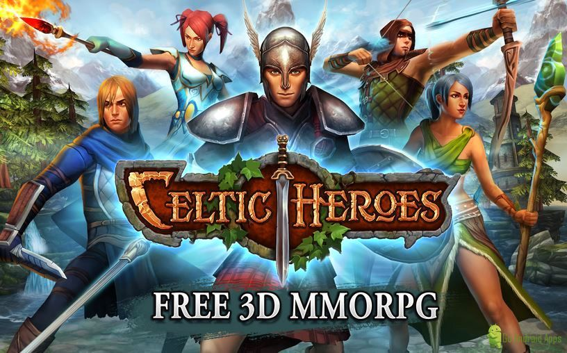 3D MMO Celtic Heroes