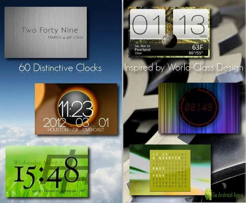 One More Clock Widget Free