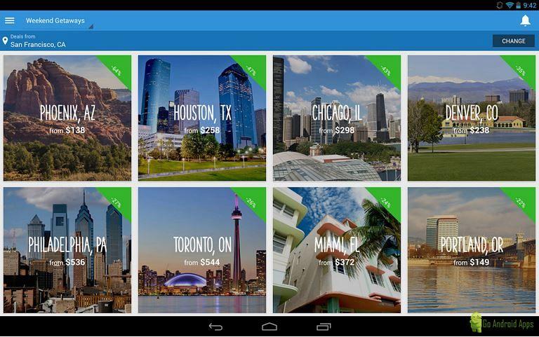 Hipmunk Hotels & Flights App