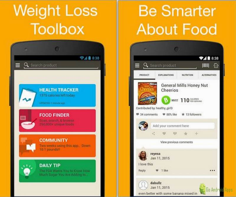 Lose Weight with Fooducate App