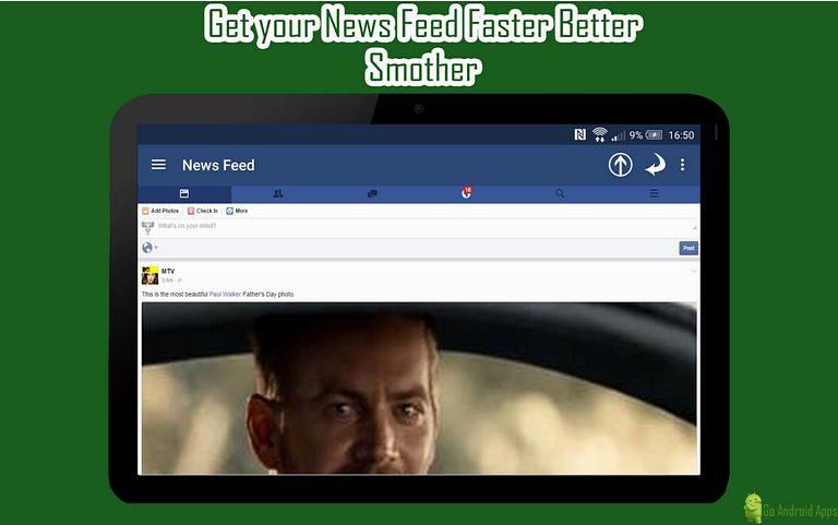 Mini For Facebook App