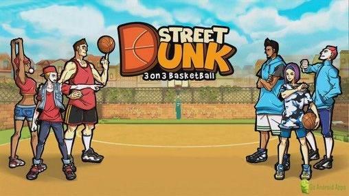 Street Dunk 3 on 3