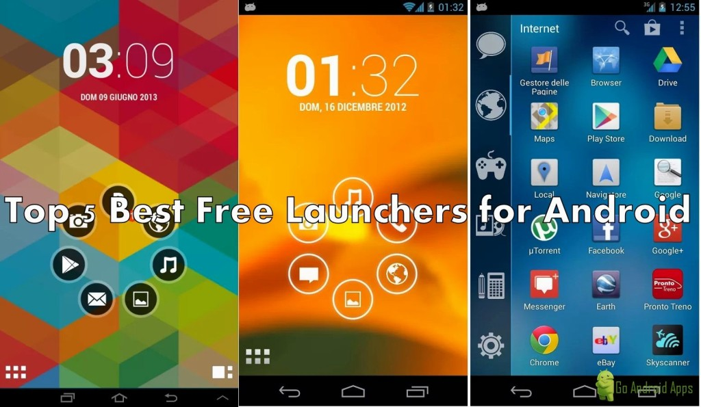 Top 5 Best Free Launchers for Android