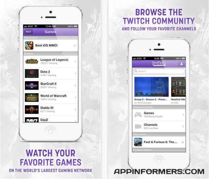 Twitch-iOS-App