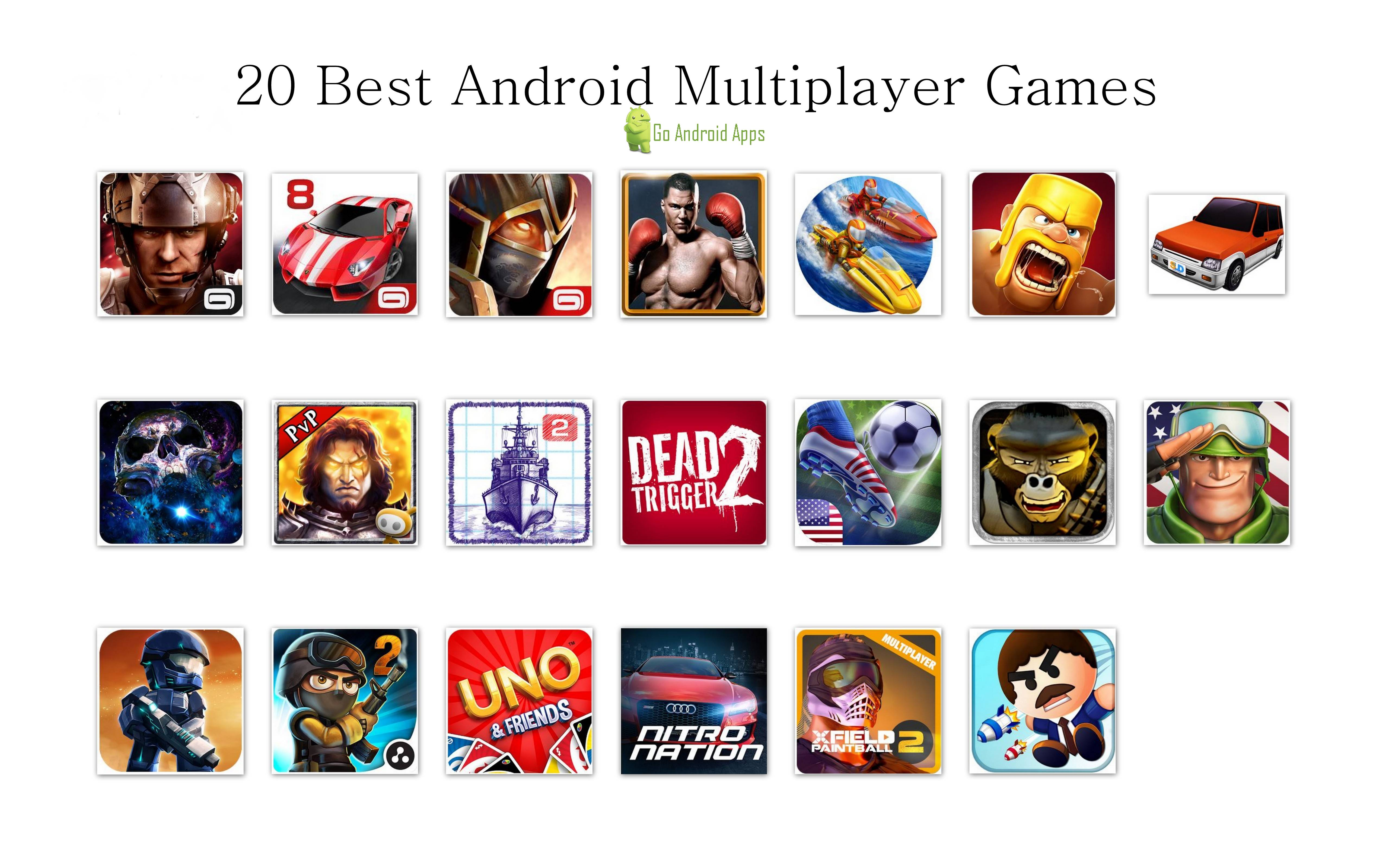 20 Best Android Multiplayer Games Multiplayer Games