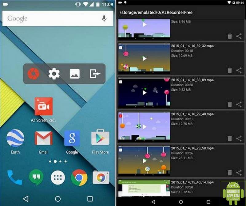 AZ Screen Recorder App