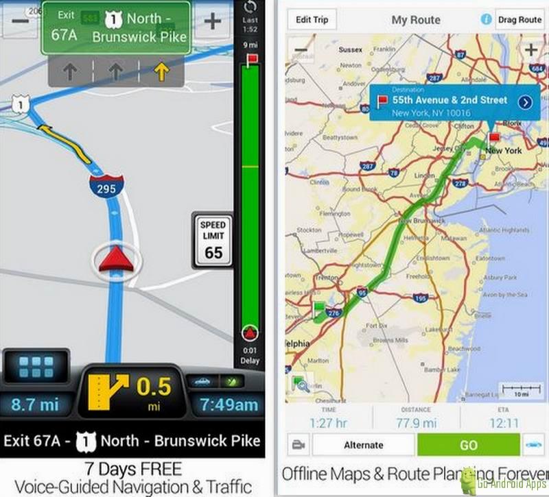 CoPilot GPS App