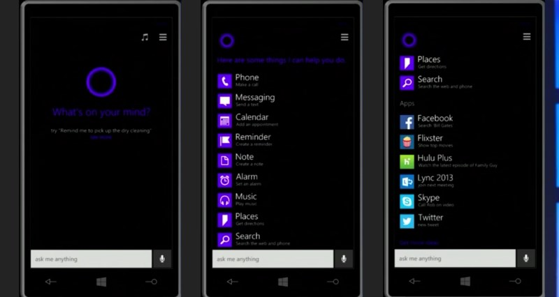This image is a great example of how the application works and what it looks like on Windows Phones.