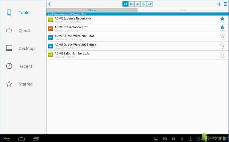 Top 5 best pdf reader for android for Documents to go app android