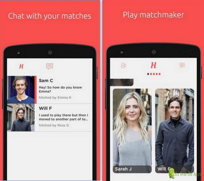 top five dating apps for android So, we rounded up a few rapplers to test out 5 popular dating apps  if you're  looking to chat with attractive people, tinder's your best bet.
