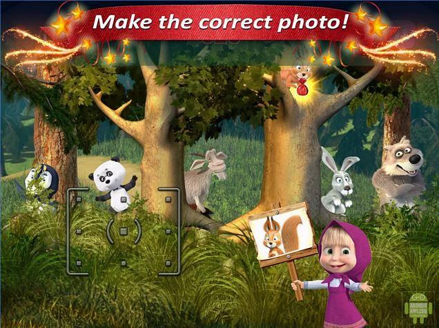 Masha and the Bear Kids Game