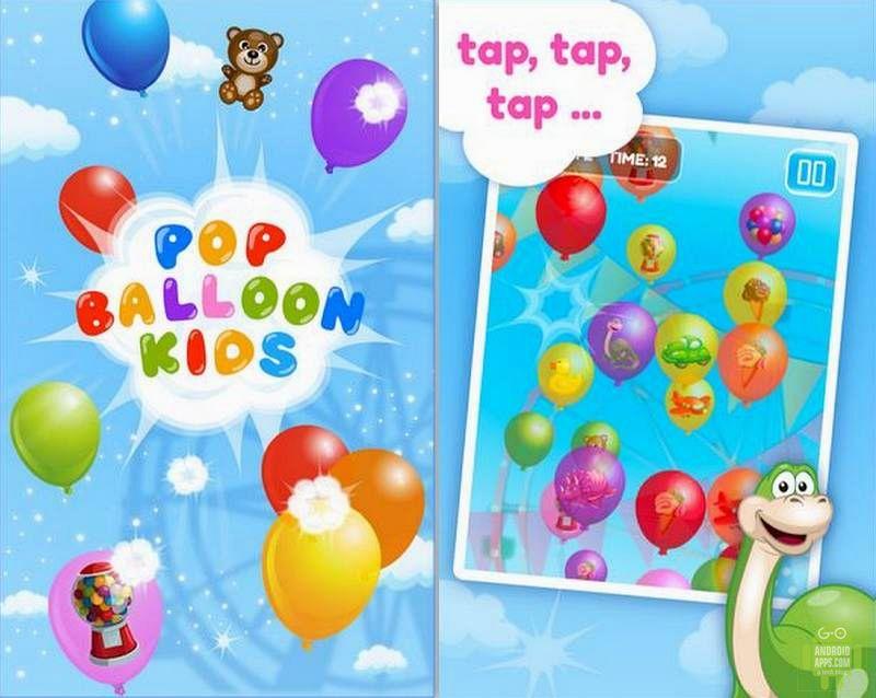 Pop Ballon kids Game