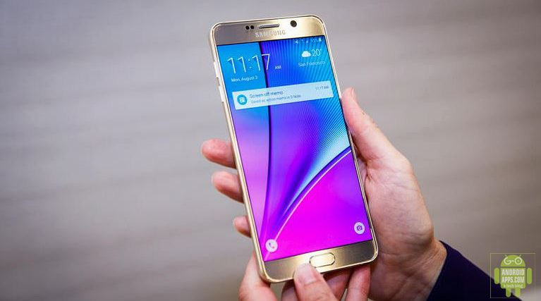 Samsung Galaxy Note 5 Mobile