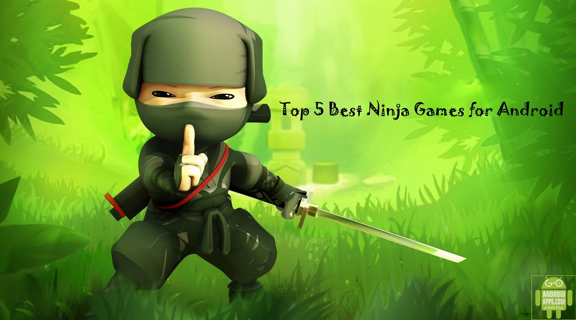 Top 5 Best Ninja Games for Android
