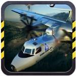 3D Army plane flight simulator