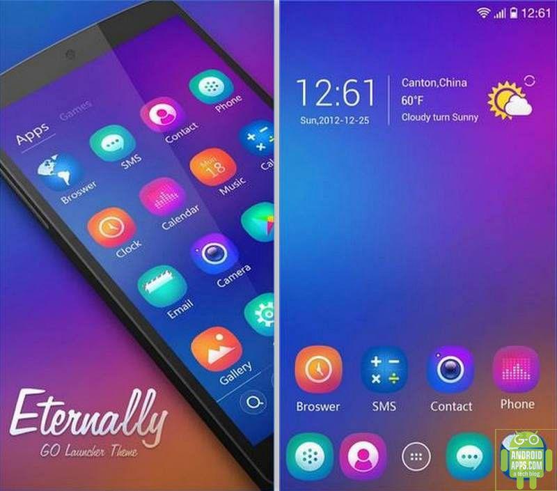 Eternally GO Launcher Theme App