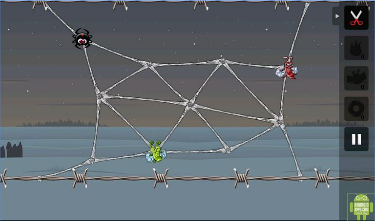 Greedy Spiders Game