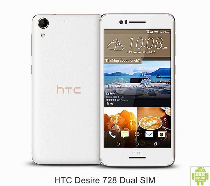 HTC Desire 728 Dual SIM Mobile White
