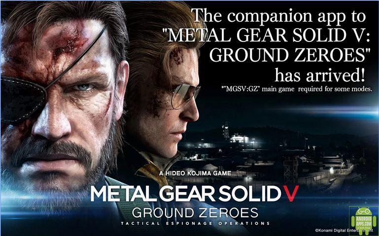 METAL GEAR SOLID V Game