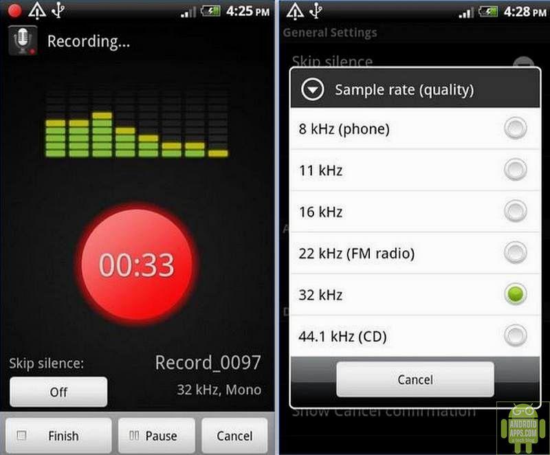 Smart Voice Recorder App