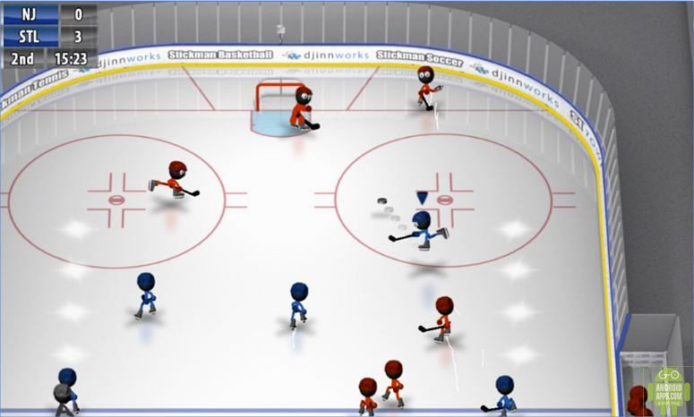 Stickman Ice Hockey Game