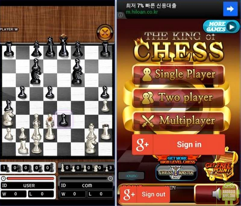 Best chess game app for android