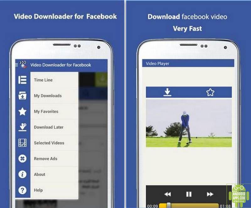 Video Downloader for Facebook App