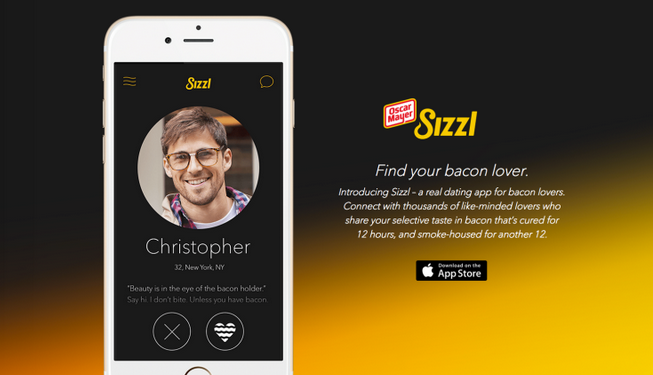 We spent 24 hours on the bacon dating app Sizzl. This is what happened