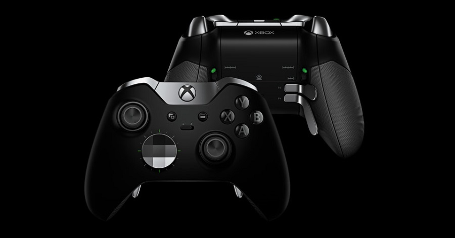 Image of the Microsoft Xbox One Elite Controller.