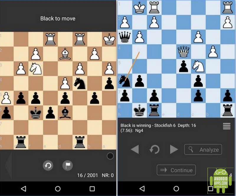 Chess Tactic Puzzles Game