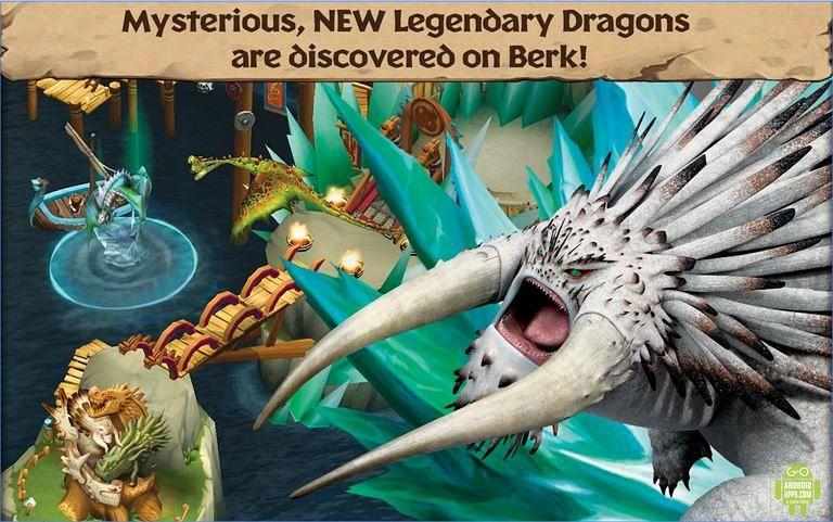 Dragons Rise of Berk Game