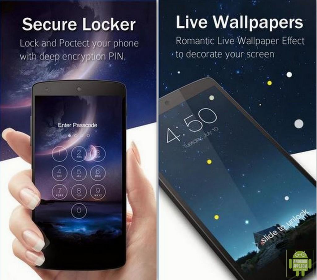 Keypad Lock Screen App