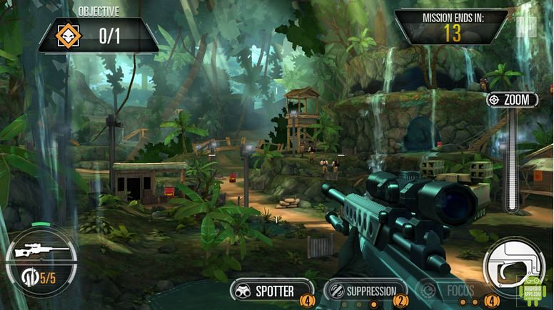SNIPER X WITH JASON STATHAM GAME