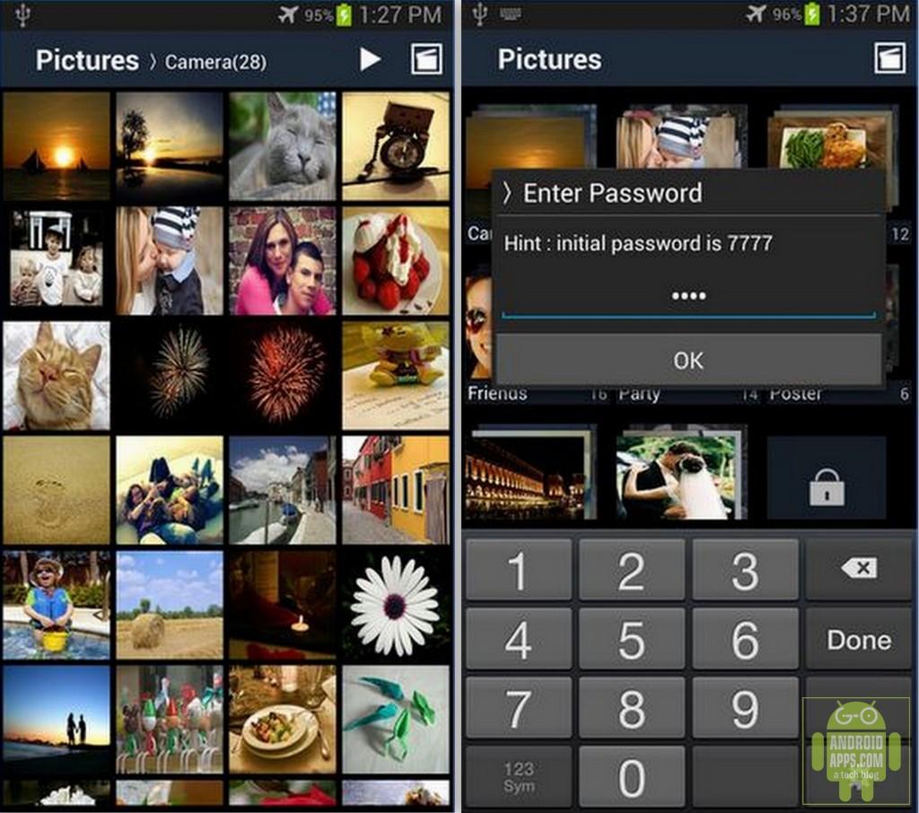 Secure Gallery App