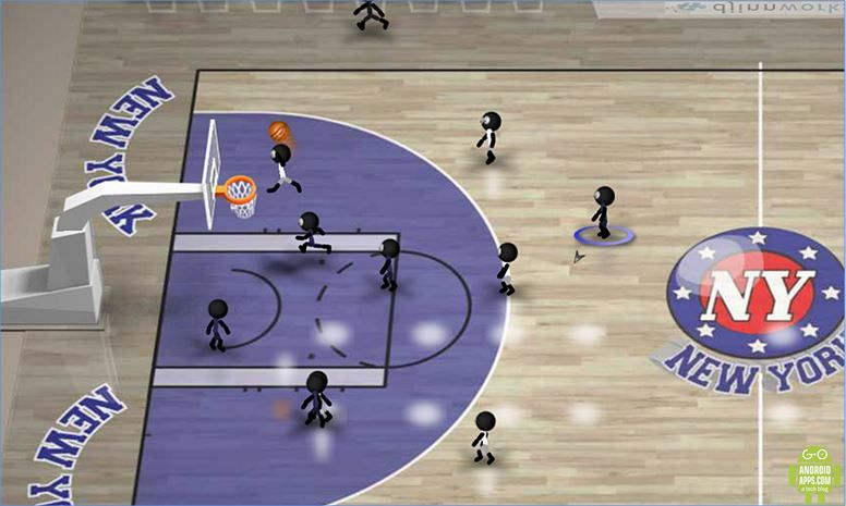 Stickman Basketball Game