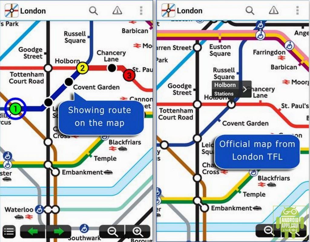 Tube Map London Underground Apps