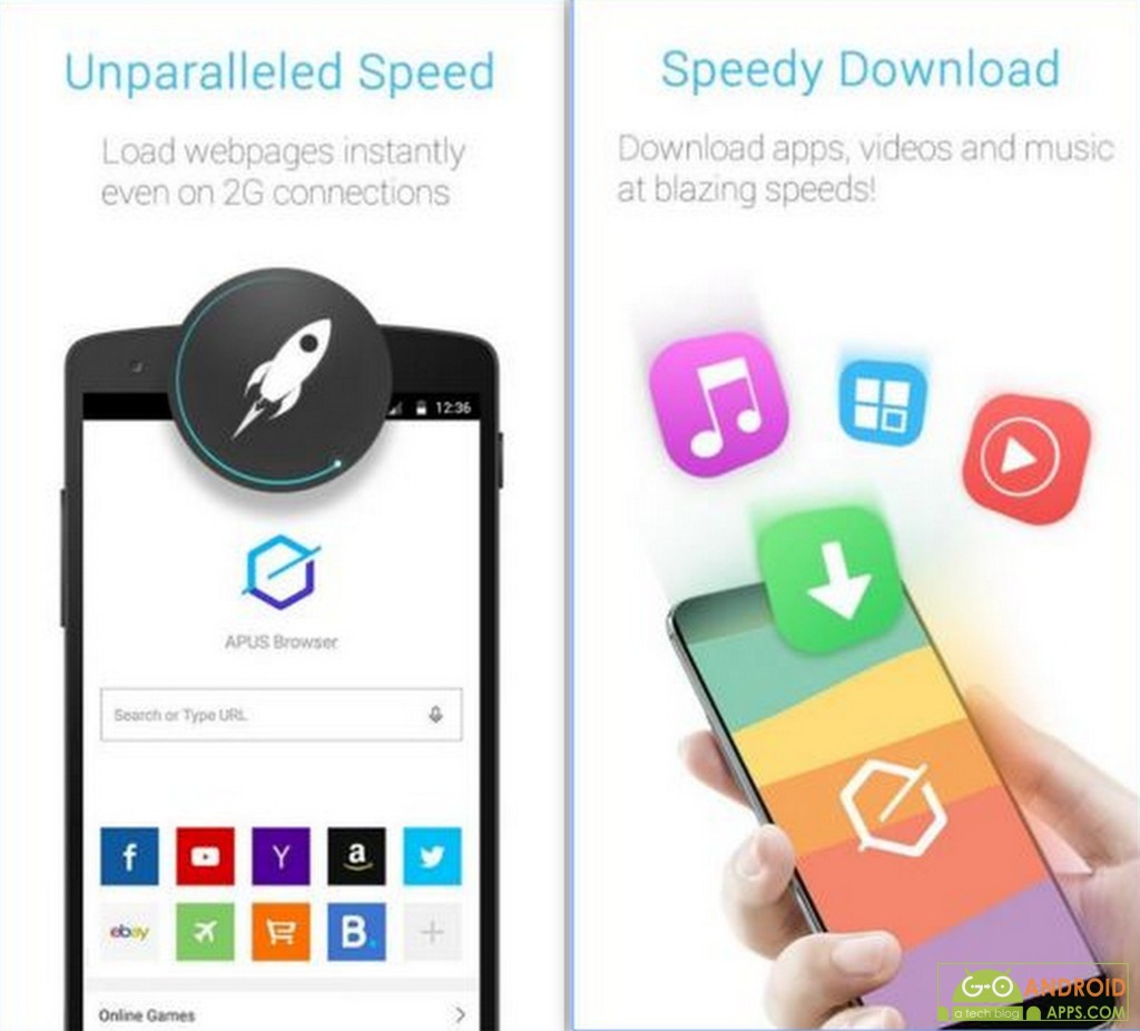 APUS Browser-Fast,Easy,Small