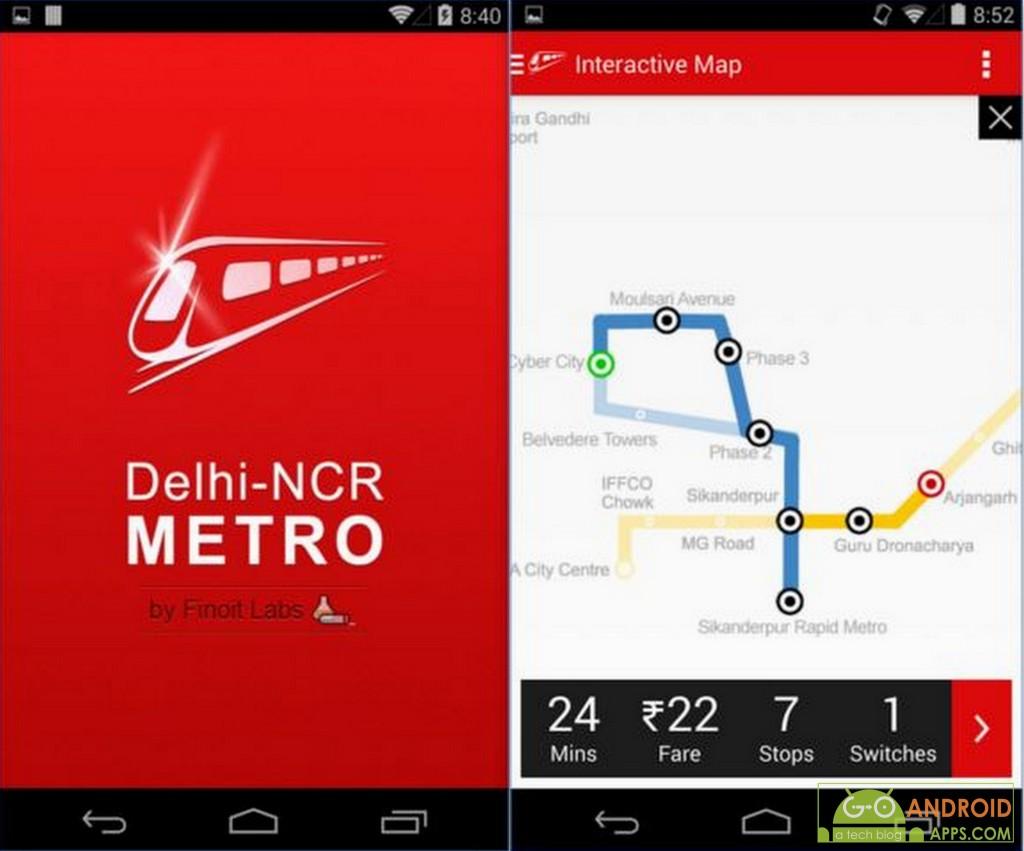 Delhi-NCR Metro App