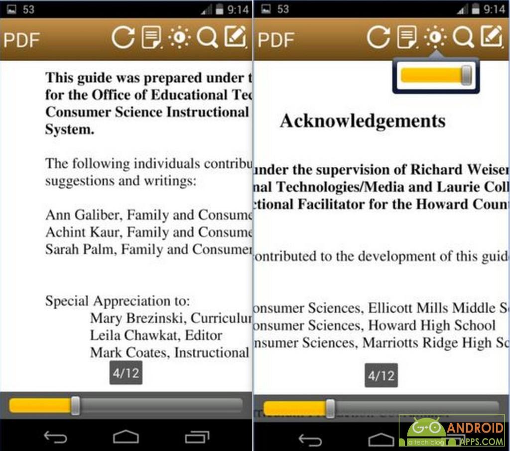 Fast PDF Reader App