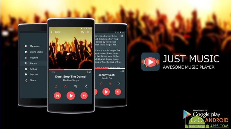Just Music Player App