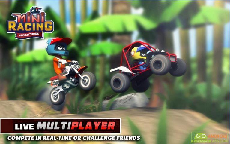 Mini Racing Adventures Game