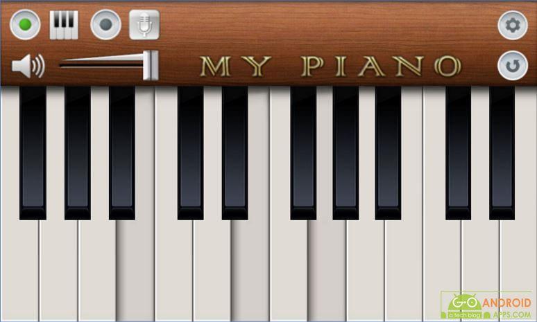 My Piano App