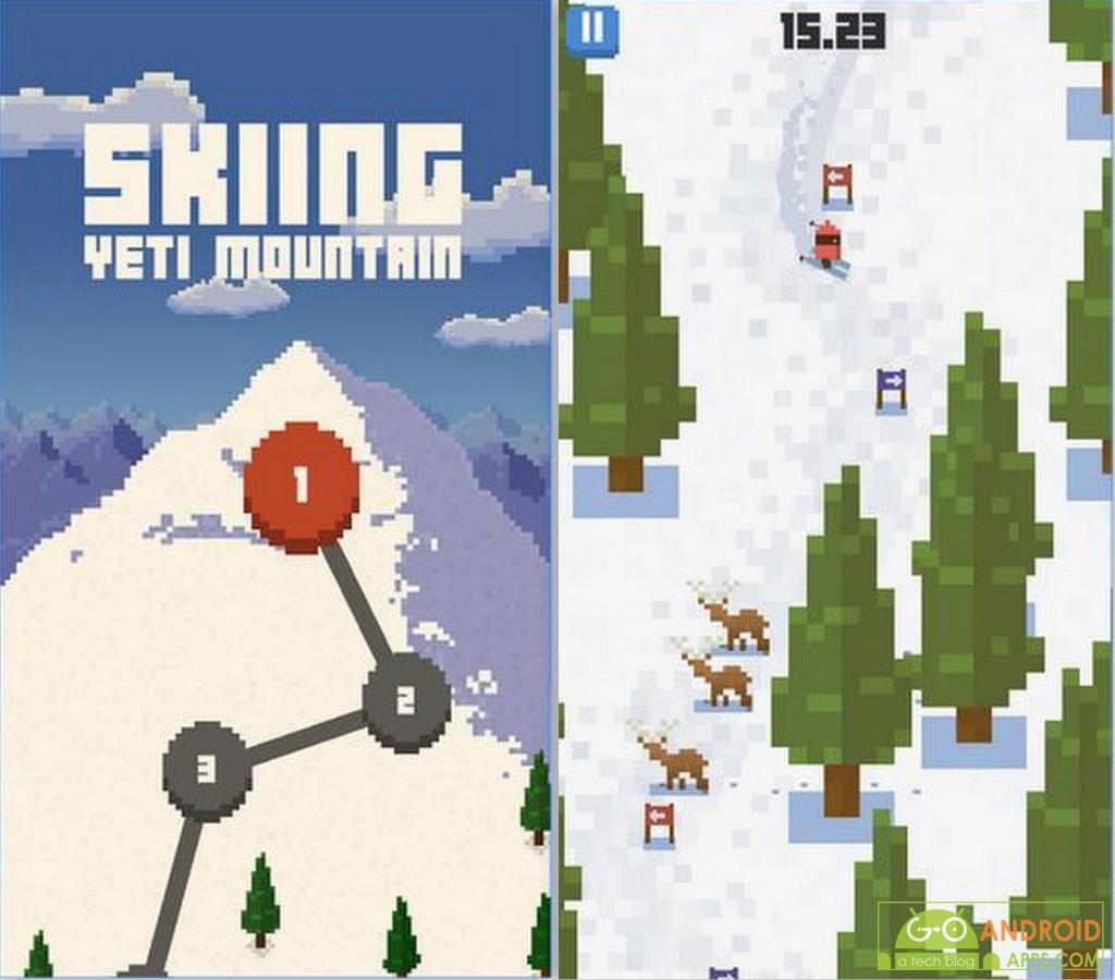 Skiing Yeti Mountain Game