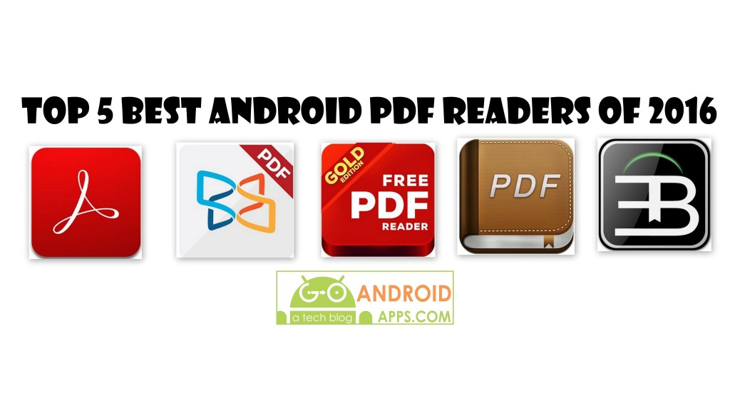 Top 5 Best Android Pdf Readers of 2016