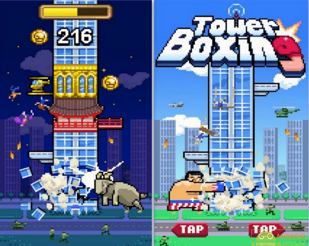 Tower Boxing Game
