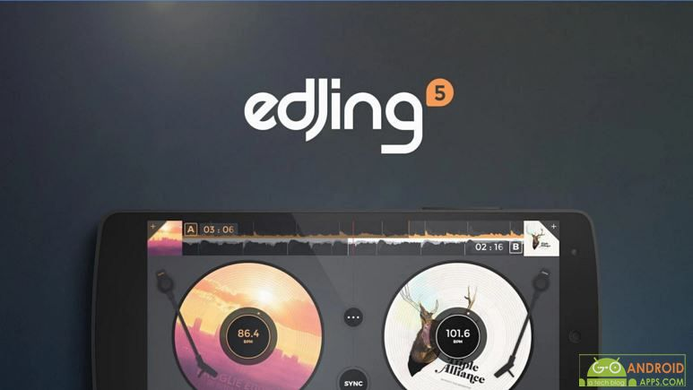 edjing 5 DJ Music Mixer Studio app