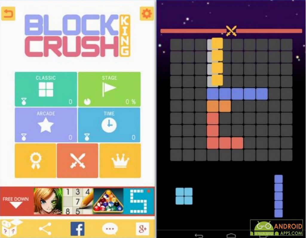 Block Crush King Game
