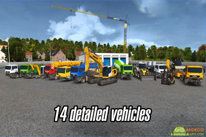 Construction Simulator 2014 Android Game